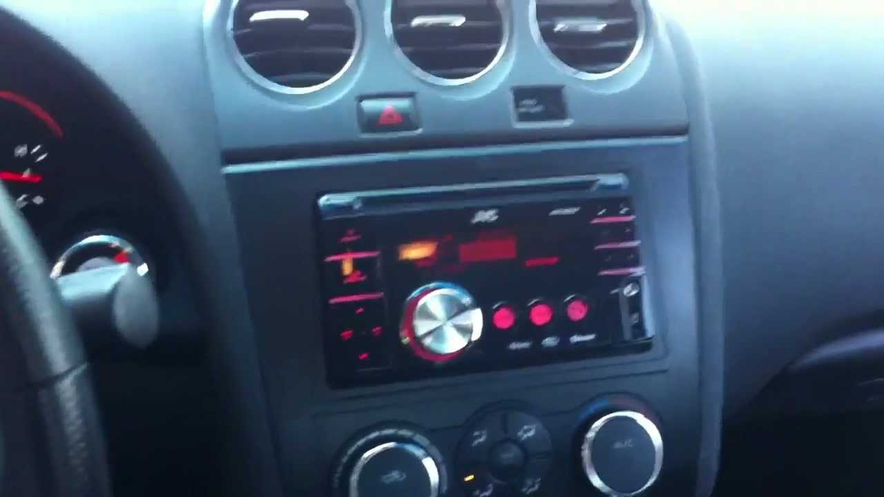2008 Nissan Altima JVC KW-XR810 Radio USB ipod bluetooth ...