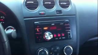 2008 Nissan Altima JVC KW-XR810 Radio USB ipod bluetooth AL & ED's Autosound Sherman Oaks