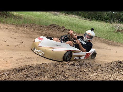 We Bought a Go Kart and Built a Racetrack