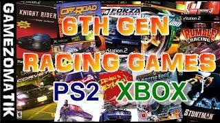 PS2 & XBOX- 6TH GEN RACING GAMES.