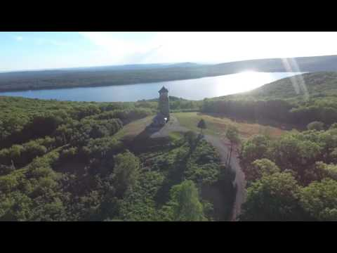 Phantom 4 Drone Video Water Quabbin Reservoir Video Awesome