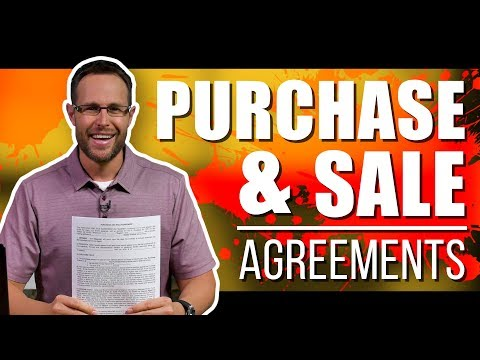 How To Fill Out A Real Estate Purchase And Sale Agreement | Tutorial