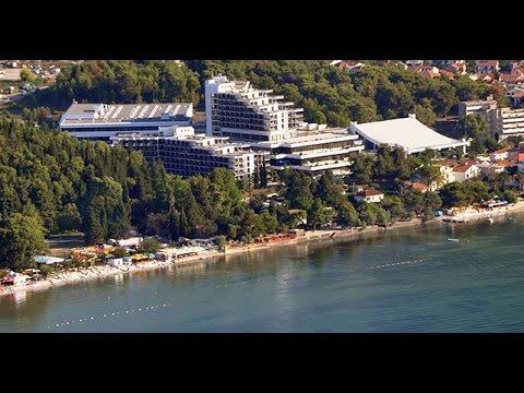 Spooky Communist Era Hotel Spa In Igalo Montenegro