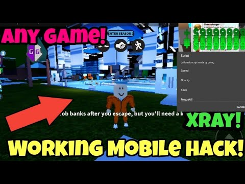 Jailbreak Mod Menu And Admin For Android Roblox Working