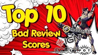 10 Bad Video Game Reviews - Worst Reviewed Games - IGN Gamepot Metacritic