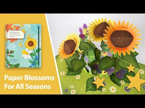 Paper Blossoms for All Seasons Pop-Up Book by Ray Marshall