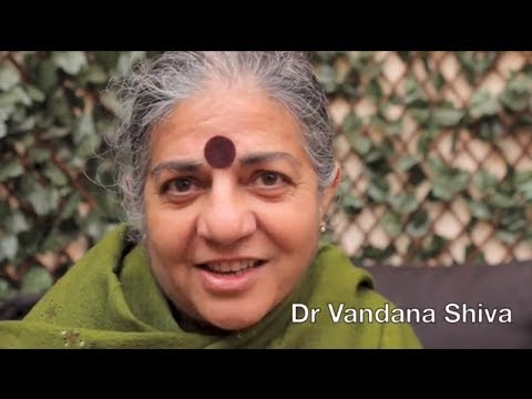 Vandana Shiva: March Against Monsanto for Freedom - YouTube
