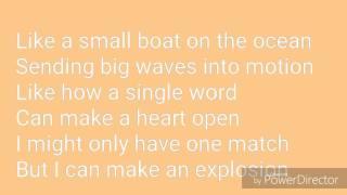 Rachel Platten - Fight Song Lyrics
