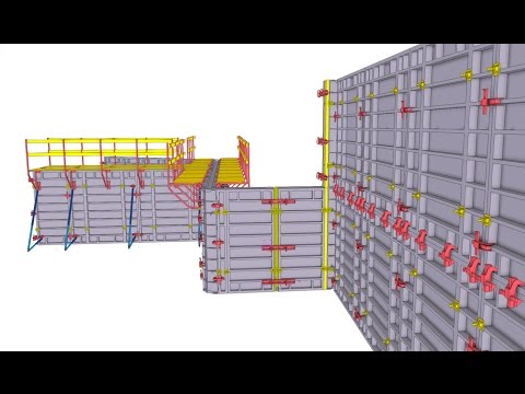 Concrete Formwork Planning Made Quick And Easy With Tekla Structures Youtube