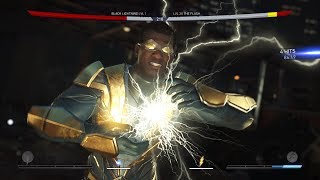 Injustice 2: Black Lightning Vs The Flash