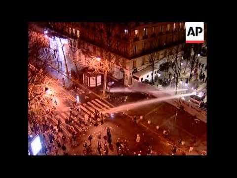 New violence at Sorbonne Uni; police use teargas, McDonalds attack