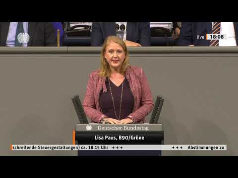 Lisa Paus zu grenzüberschreitenden Steuergestaltungen