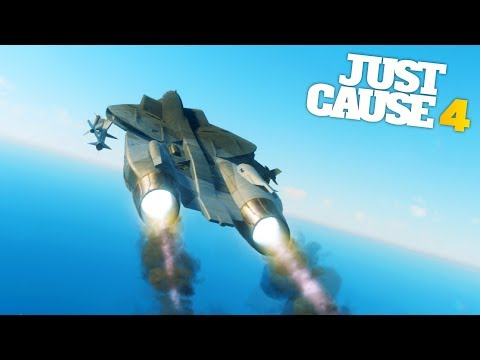 Just Cause 4 - THE WINGLESS PLANE AND SECRET DEV ROOM STUNTS