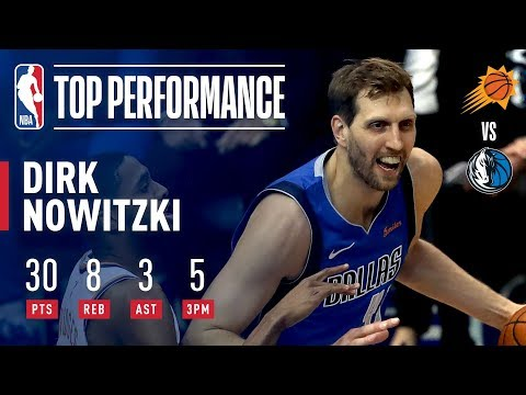 Dirk Nowitzki Drops 30 Points in FINAL Home Game | April 9, 2019