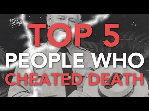 Top Five Live - Top 5 People Who Cheated Death