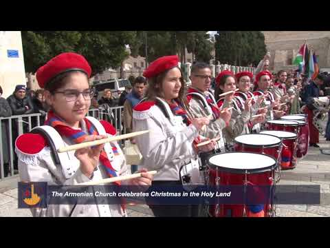 The Armenian Church Celebrates Christmas In The Holy Land