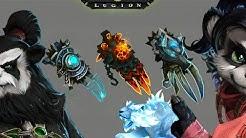 WoW Legion [Alpha] Die Questreihe zur Elementar Artefaktwaffe Die Faust des Ra-Den - Schamane