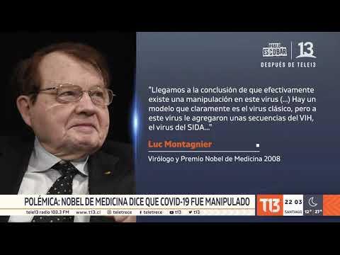 Nobel de Medicina dice que COVID-19 fue manipulado y nació en un laboratorio