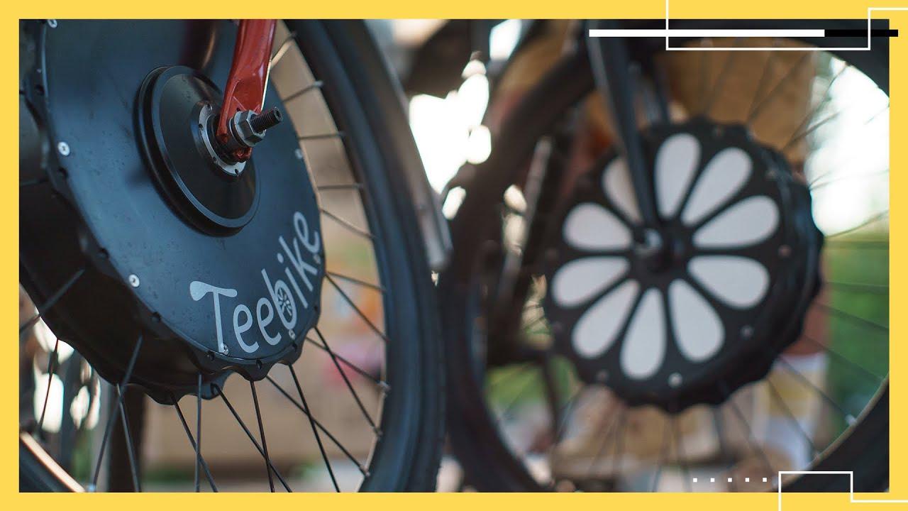 Teebike turns any bike into an electric bike