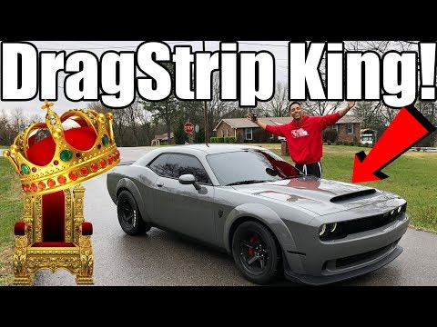 2018 Dodge Demon Review!! What You've All Been Waiting For!!