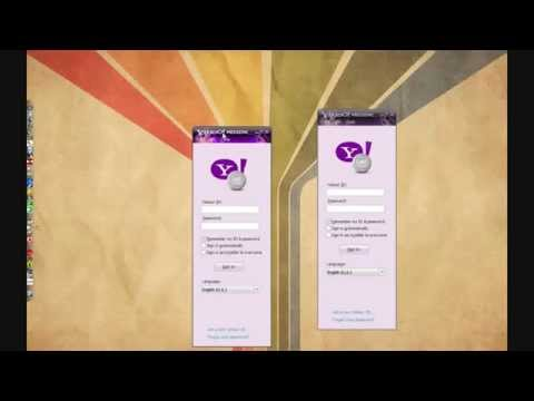 How To Open Two Yahoo Messenger At The Same Time On Your PC
