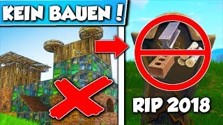 No more BUILDING IN FORTNITE!?! 😱 This is what happens with FORTNITE!