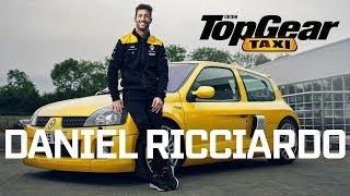 Daniel Ricciardo in a Renault Clio V6 | Top Gear Taxi