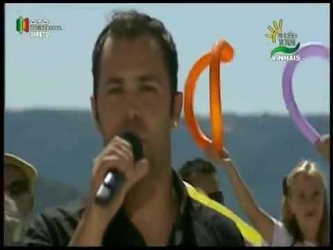 David Garcia no Verao total da RTP em vinhais com o tema   Um abraço de saudade