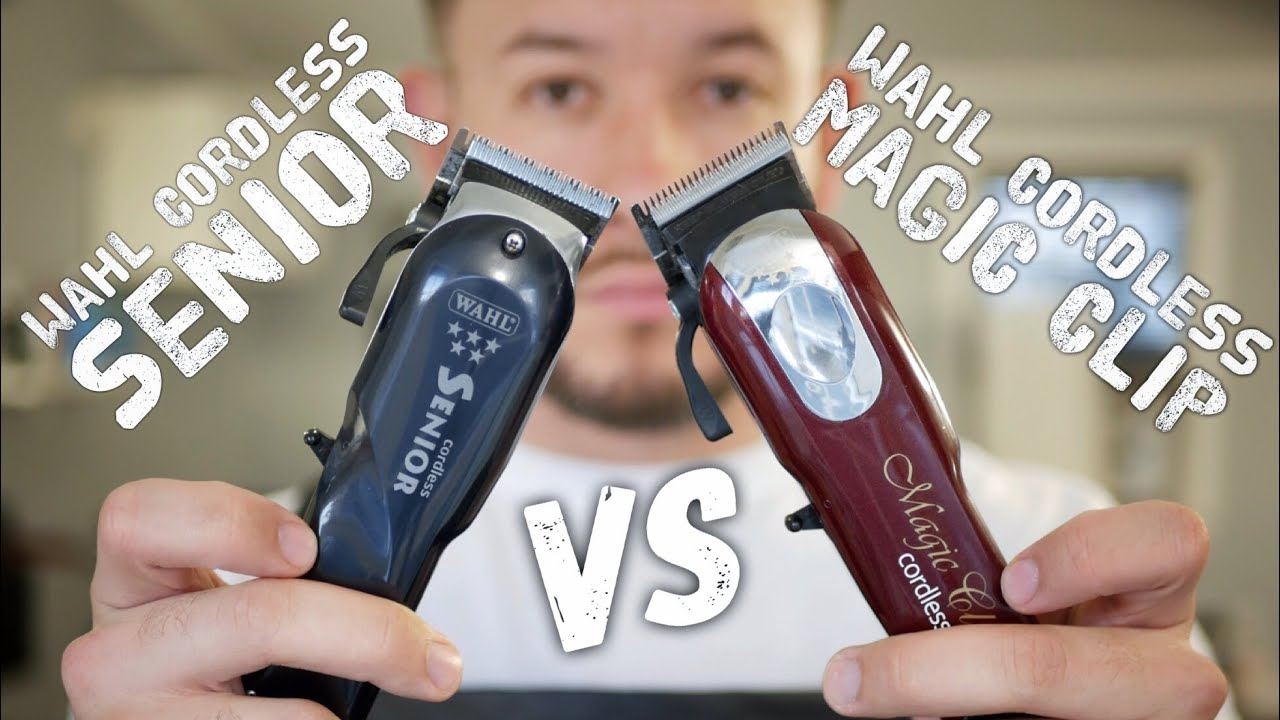 191f8f51e 2018 Wahl Cordless Senior Review | Magic Clip comparison - YouTube