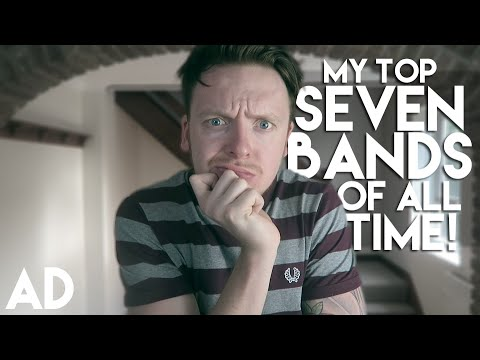 MY TOP 7 BANDS! Mp3