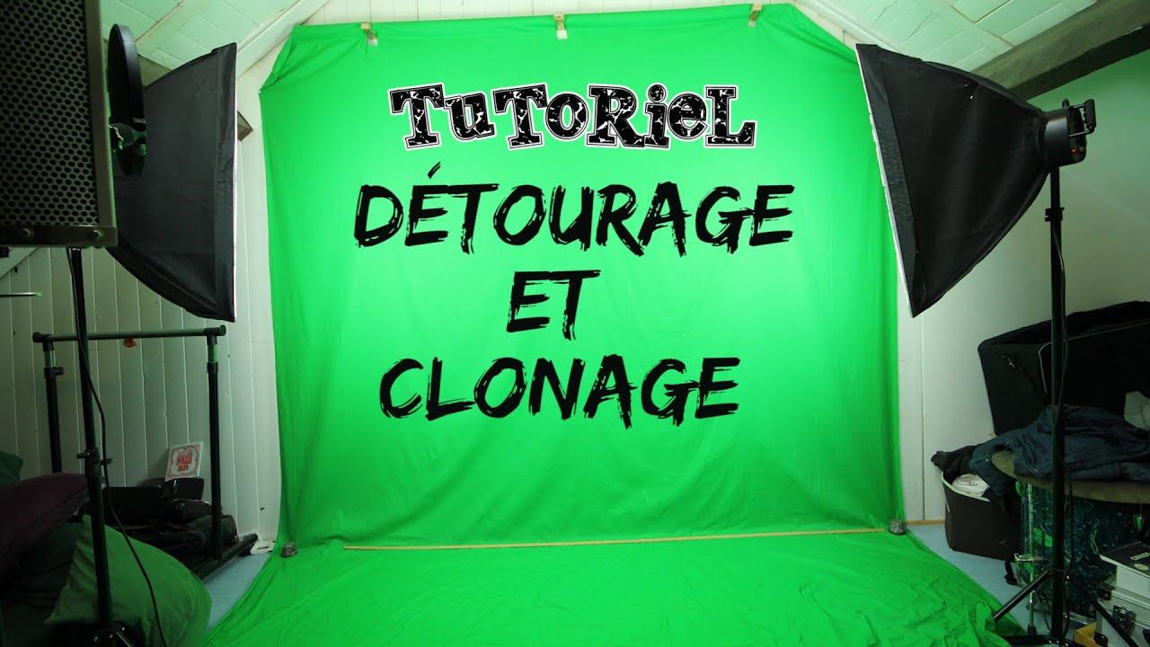 tutoriel vid o d tourage sur fond vert simple et effet de clonage avec after effect premiere. Black Bedroom Furniture Sets. Home Design Ideas