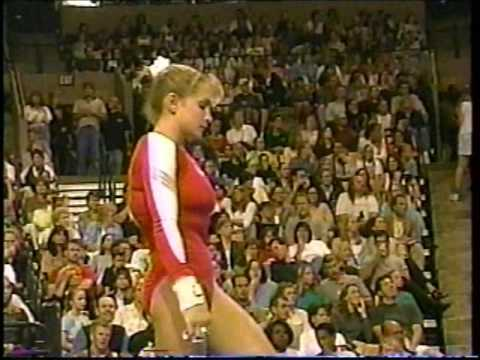 Shannon Miller Uneven Bars  2000 US Olympic Trials Day 1