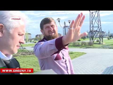В Грозном началось возведение еще одного уникального парка