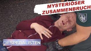 Zusammenbruch bei Zollkontrolle | Auf Streife - Die Spezialisten | SAT.1 TV