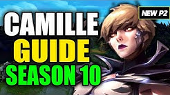 HOW TO PLAY CAMILLE SEASON 10 - (Best Build, Runes, Playstyle) - S10 Camille Gameplay Guide