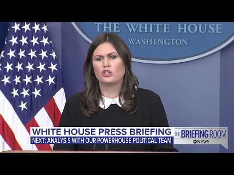 White House press briefing: Possibly on tax reform bill, Billy Bush and Roy Moore