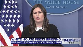 White House press briefing on Pres. Trump's endorsement of Roy Moore and Gen. Flynn's plea