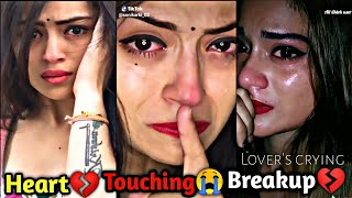"Sad Moj video/💔💔/Heart Touching ""Breakup"" 💔😭 Most Emotional musically Videos//breakup part 56"