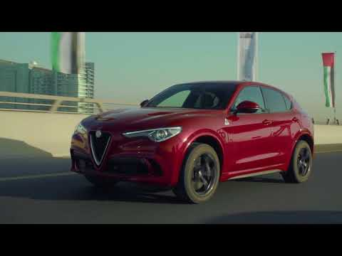 Alfa Romeo Stelvio Q in Dubai - Driving in city