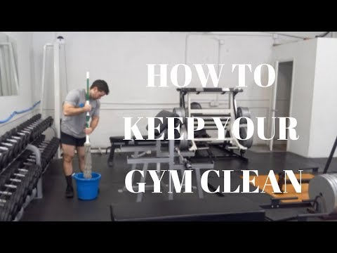 How to Keep Your Gym Clean
