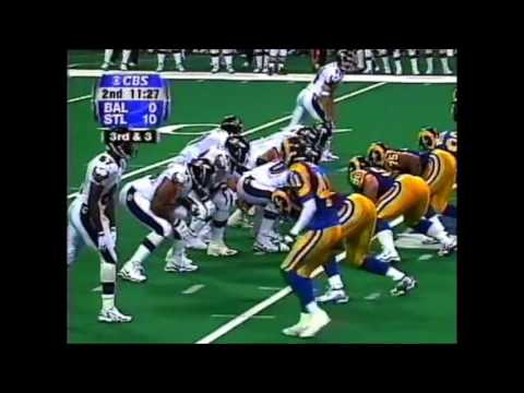 1999 Week 1 Ravens vs Rams Highlights