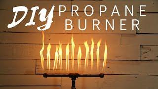 Propane Pipe Burner For Firepit