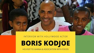 Interview with Hollywood Actor Boris Kodjoe for FOCOS