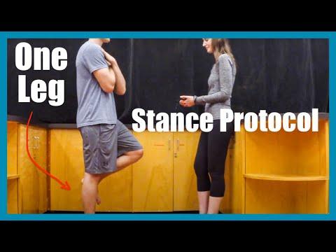 One-Leg Stance Protocol