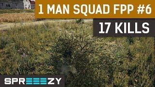 PUBG FPP 1 Man Squad Game #6 | 17 Kills | No Helm No Vest No Problem