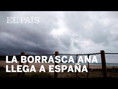 La borrasca Ana alcanza la península | España