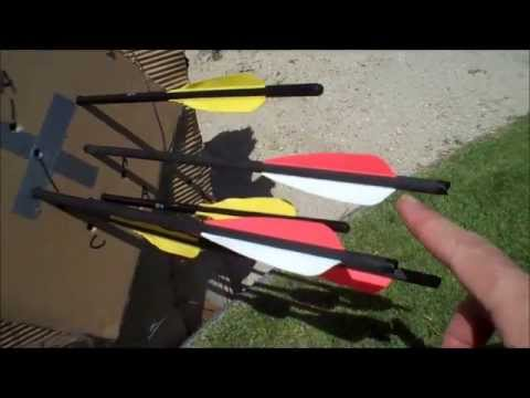 Crossbow Bolts Carbon Vs Aluminum?
