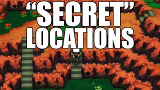 """How to get to the """"Secret"""" Locations for Secret Bases - Omega Ruby and Alpha Sapphire"""