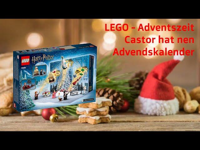 LEGO 75981 - Harry Potter Adventskalender Jeden Tag ein Türchen 01