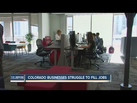Colorado businesses struggle to fill jobs